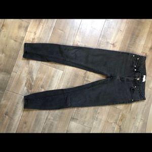 Zara denim pants skinny fit